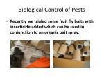 biological control of pests9