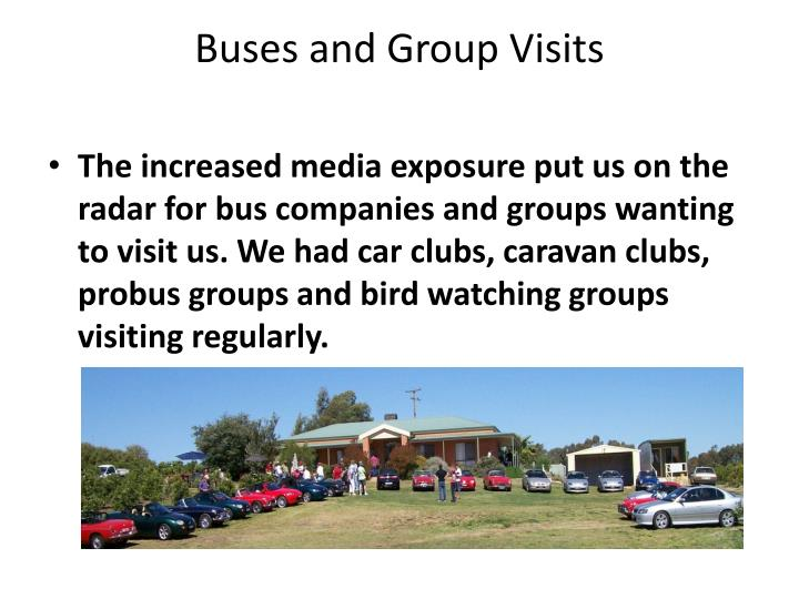 Buses and Group