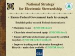 national strategy for electronic stewardship2
