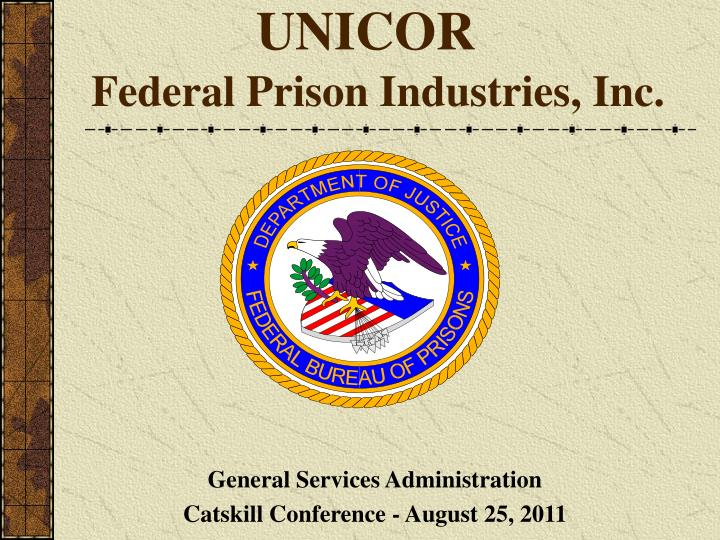 Unicor federal prison industries inc