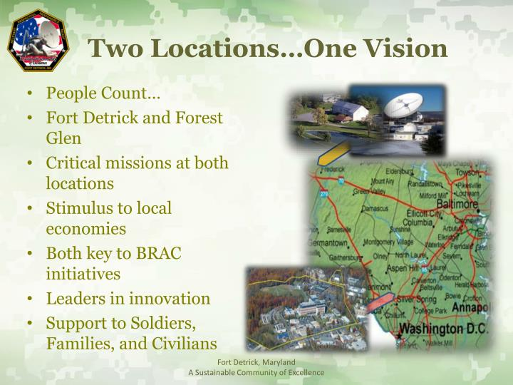 Two Locations…One Vision