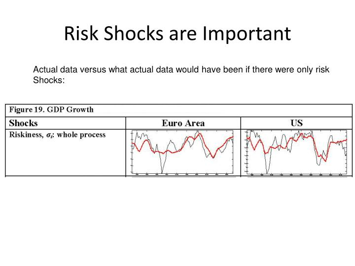Risk Shocks are Important
