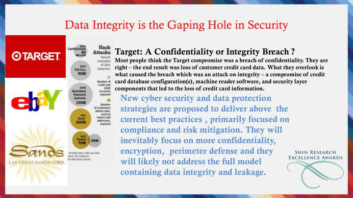 Data Integrity is the Gaping Hole in Security