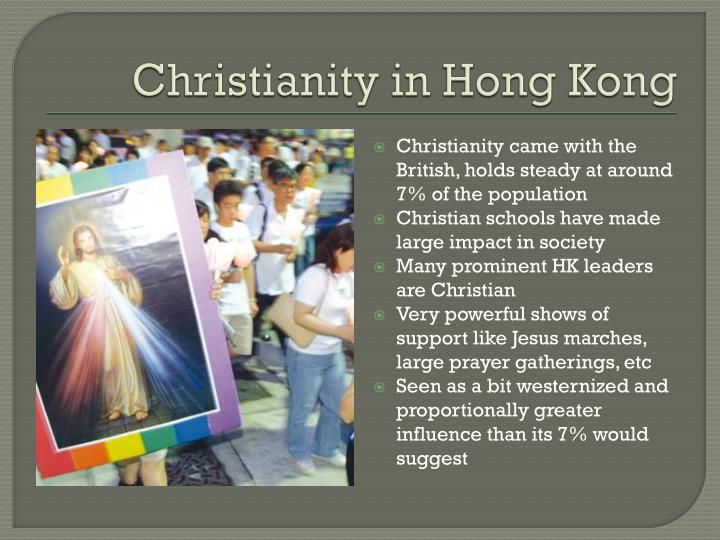 Christianity in Hong Kong