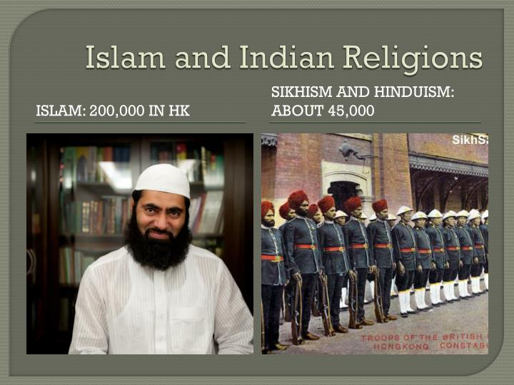 Islam and Indian Religions