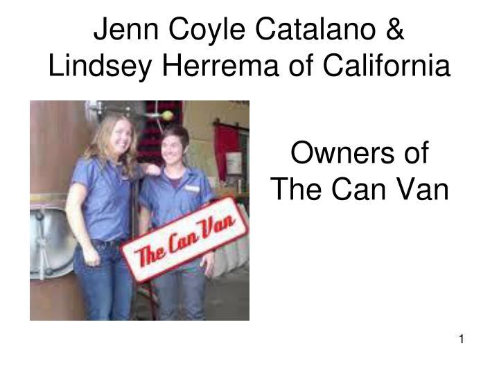 Jenn Coyle Catalano &
