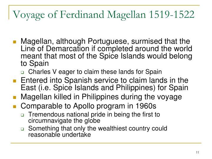 Voyage of Ferdinand Magellan 1519-1522