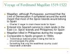 voyage of ferdinand magellan 1519 1522
