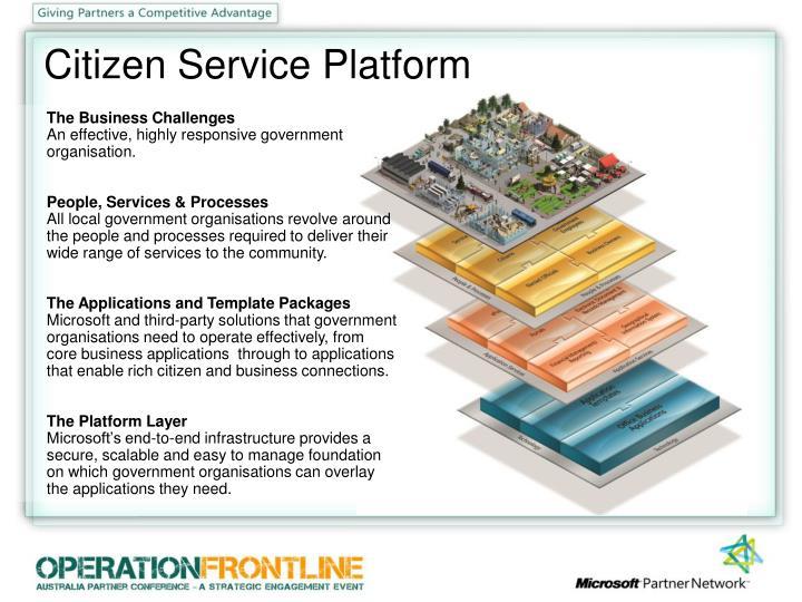 Citizen Service Platform