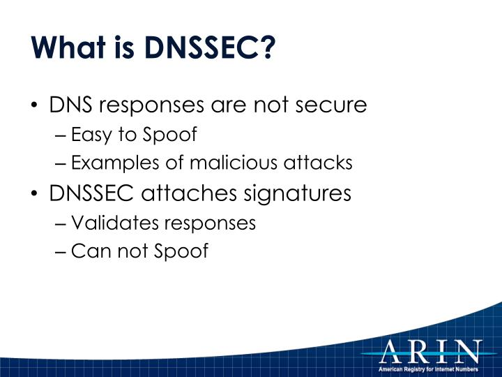What is DNSSEC?