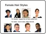 female hair styles