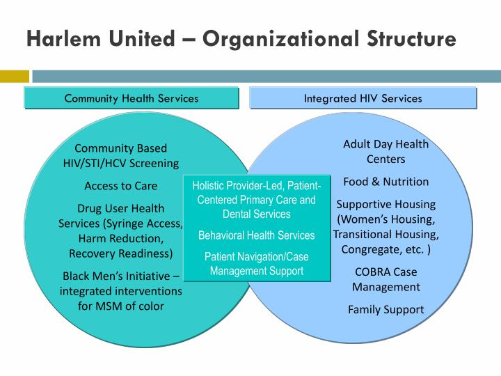 Harlem United – Organizational Structure
