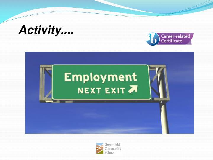 Activity....