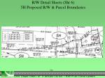 r w detail sheets sht 6 5h proposed r w parcel boundaries1