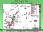 r w property map 3e ownership name and number