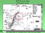 r w property map 3j property lines