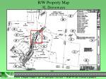 r w property map 3l driveways