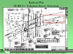 railroad plat 8e rr co valuation survey stationing