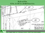 railroad plat 8i sta off for all rr parcel ties1