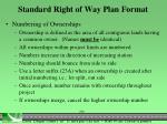standard right of way plan format1