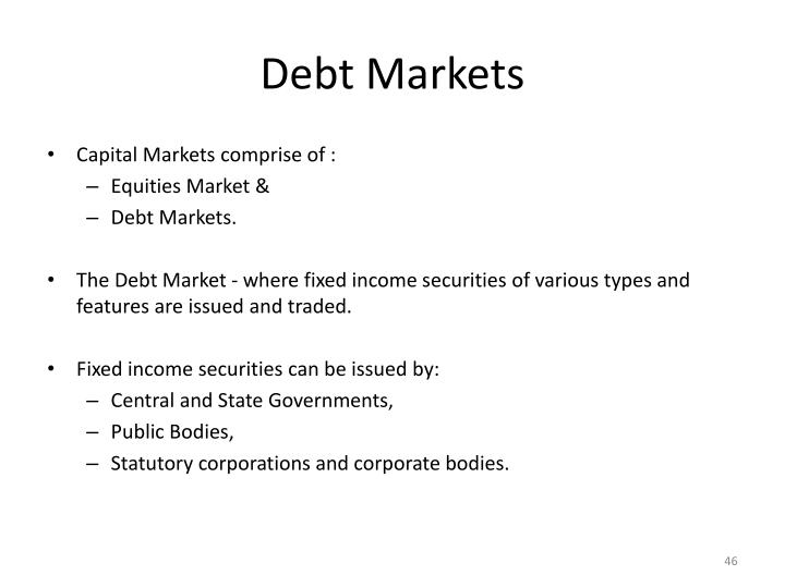 Debt Markets