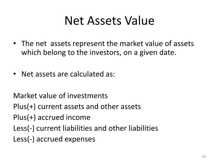 Net Assets Value