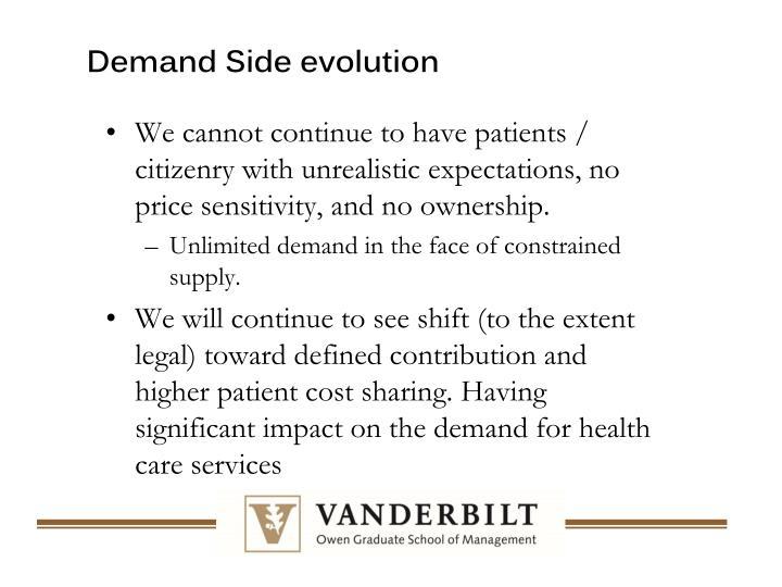 Demand Side evolution