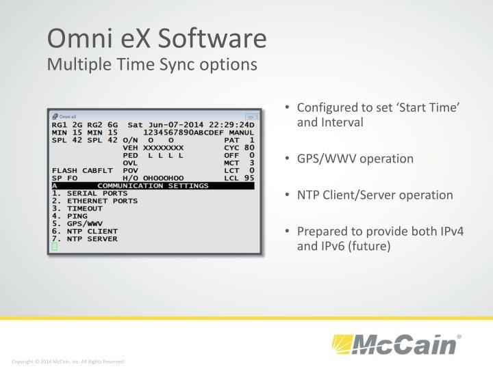Omni eX Software