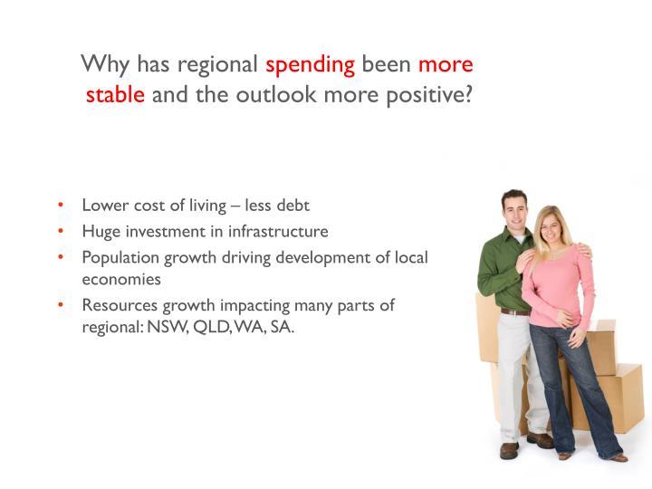 Why has regional