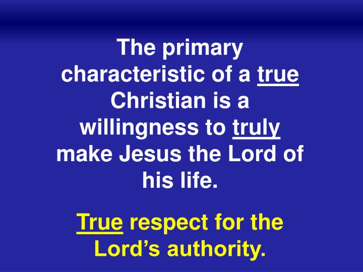 The primary characteristic of a