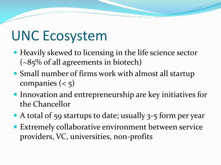 UNC Ecosystem