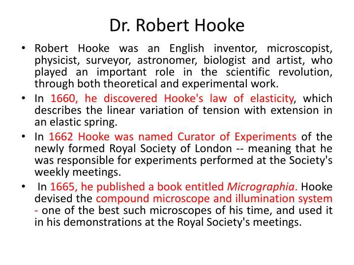 Dr. Robert Hooke