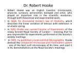 dr robert hooke