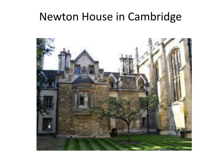 Newton House in Cambridge