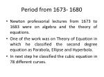 period from 1673 1680