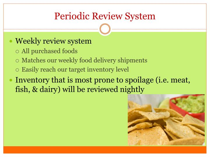 Periodic Review System