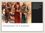 conversion of a eunuch