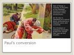 paul s conversion