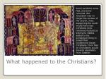 what happened to the christians