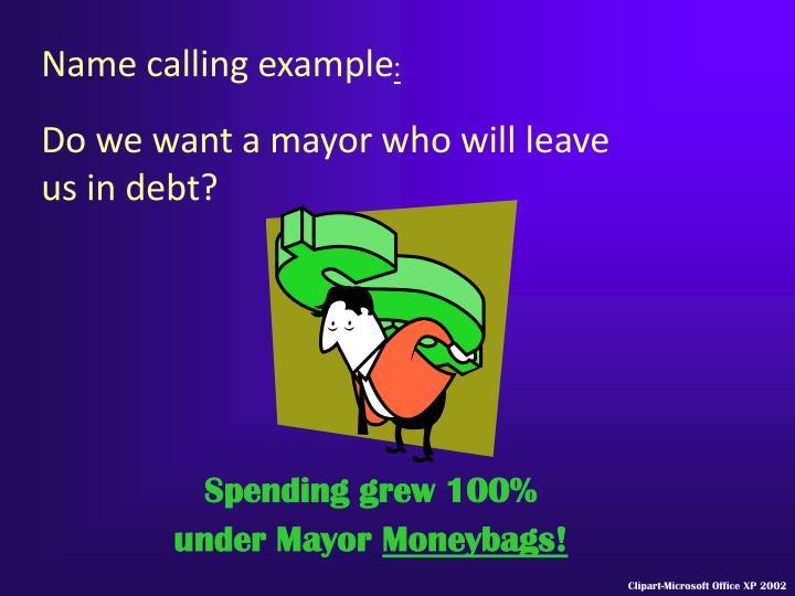 Spending grew 100%
