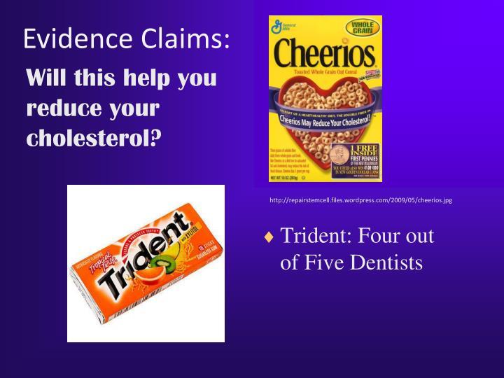 Evidence Claims: