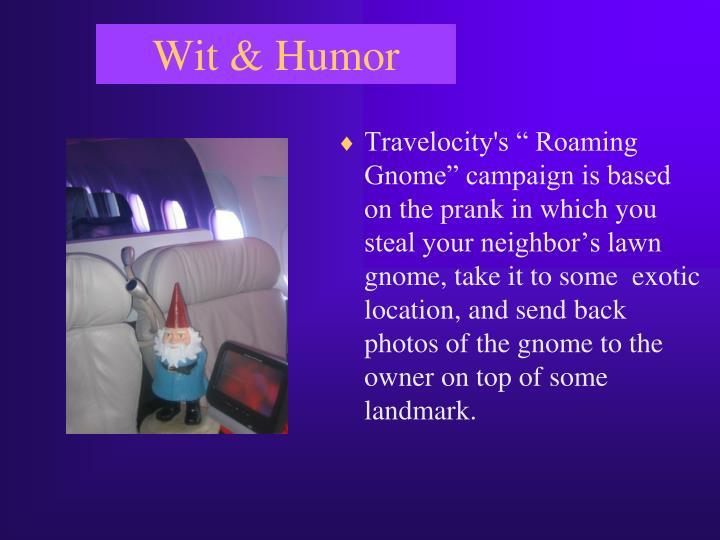 Wit & Humor