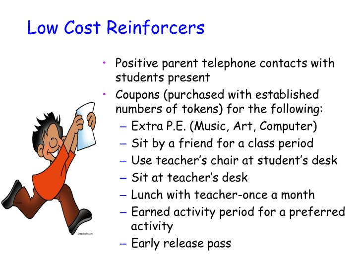 Low Cost Reinforcers