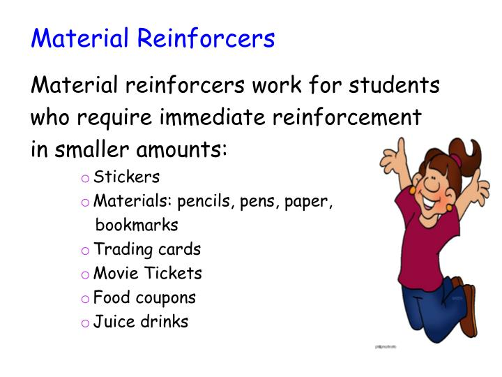 Material Reinforcers