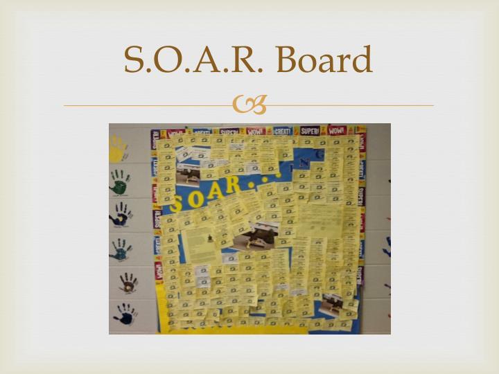 S.O.A.R. Board