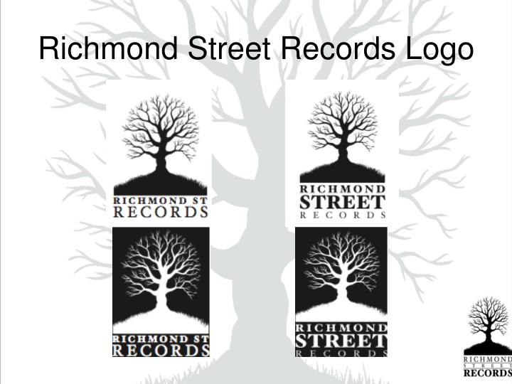 Richmond Street Records Logo