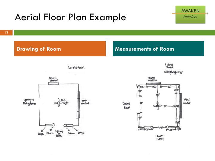 Aerial Floor Plan Example
