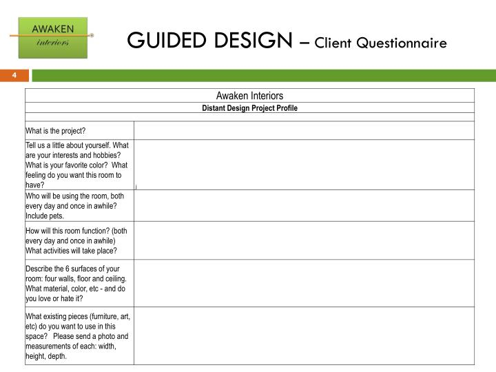 GUIDED DESIGN