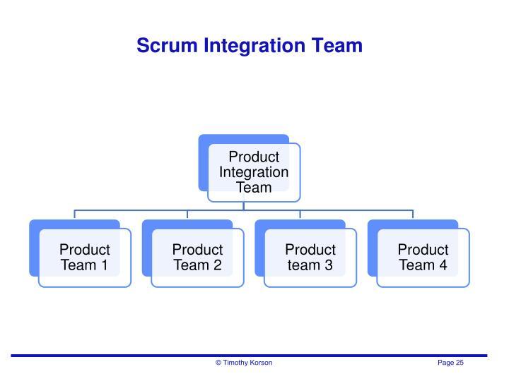 Scrum Integration Team