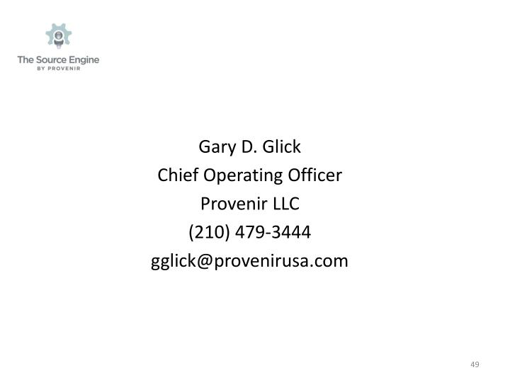 Gary D. Glick